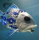 Pesci Robot nel Tamigi