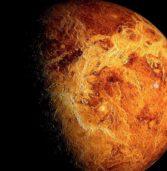 Onde atmosferiche notturne su Venere