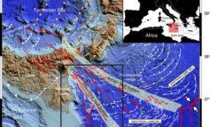 Un'area vulcanica sottomarina nel Canale di Sicilia