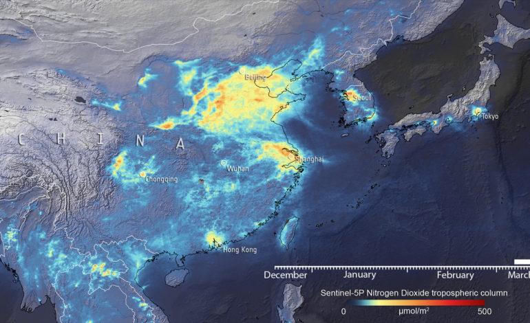 Cina – Inquinamento ridotto nell'area di Wuhan a seguito delle misure per il COVID-19