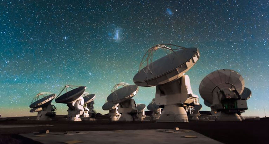 Event Horizon Telescope - Sito di Atacama